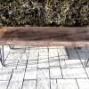 Dark Hairpin Bench